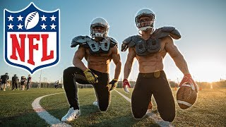 Bodybuilders try the NFL Combine Fitness Test without practice