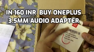 Only In 160 INR Buy OnePlus Type-C to 3.5mm Adapter