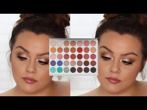 Glowy Eyeshadow Tutorial Using Jaclyn Hill Morphe Eyeshadow Palette thumbnail
