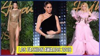 Mejor y Peor Vestidos de Los FASHION AWARDS 2018   Meghan Markle  Kendall Jenner y MÁS