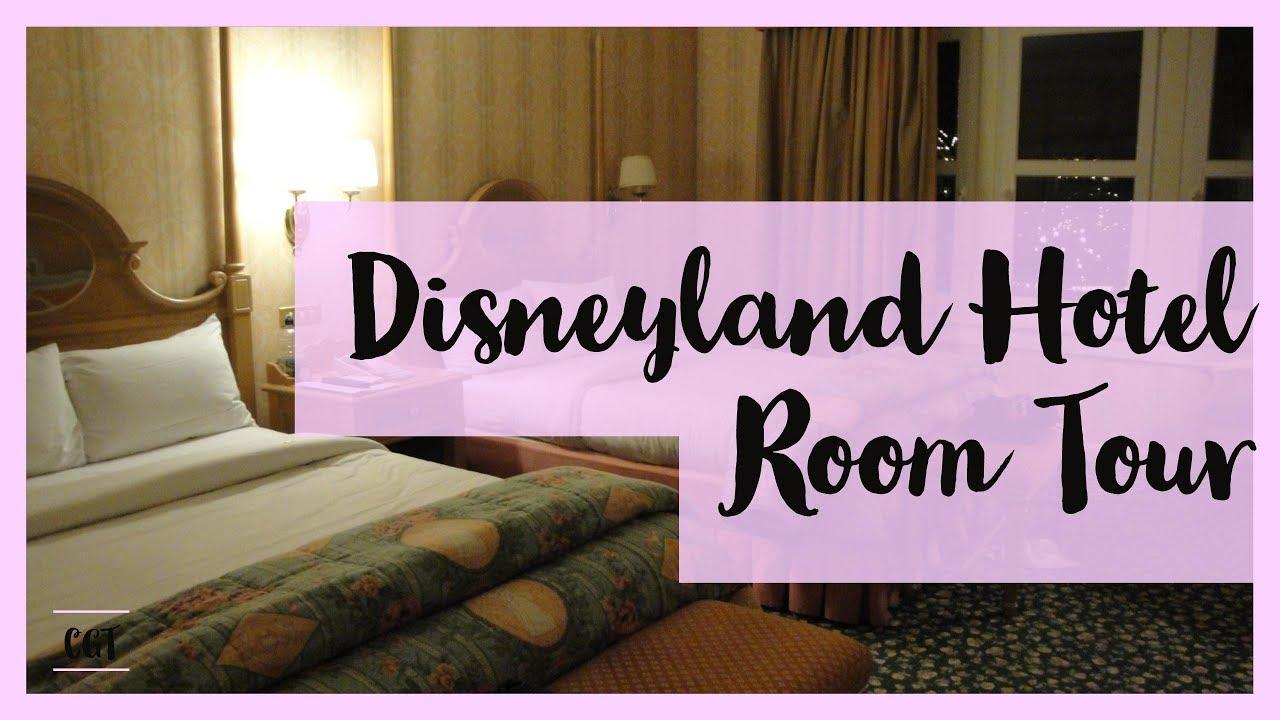 Disneyland Hotel Room Youtube