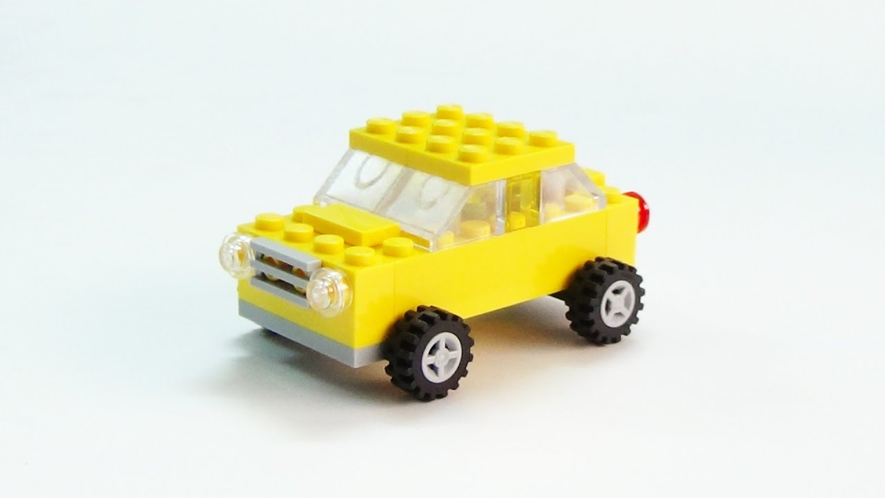 Lego Vintage Cars 5 Vehicles Building Instructions - Year of