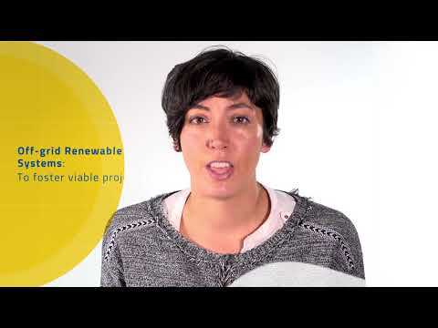 Beatriz Maroto: Off-grid renewable energy systems to foster viable projects