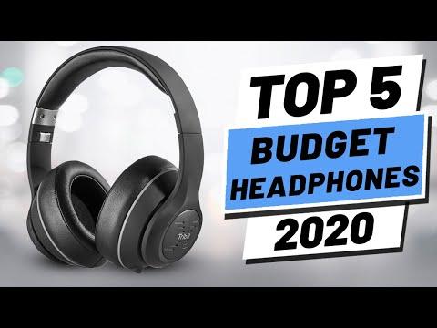 Top 5 BEST Budget Headphones (2020)