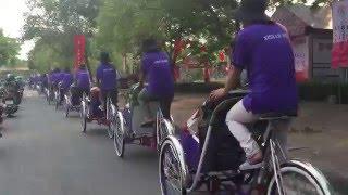Hue pedicab
