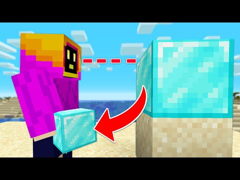 Minecraft But, I Get Every Block I Look At! - Not PaulGG