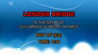Children's Favorites - London Bridge (Karaoke)