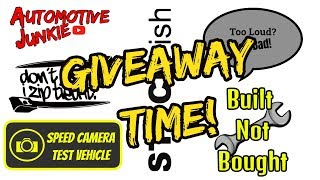 Automotive Sticker Giveaway