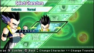 Dragon Ball Z Shin Budokai 2 en PPSSPP (Emulador de PSP)