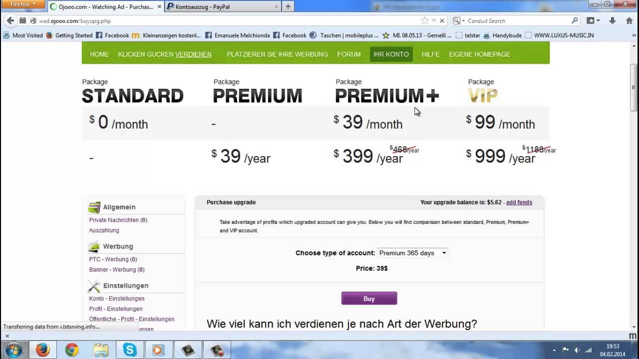 Online Geld Verdienen Paypal Auszahlung