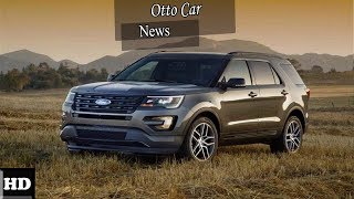 HOT NEWS !!! Ford Explorer Interior and Infotainment   spec & price