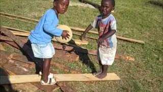 Zambian Children at Play - Making Their Own Fun