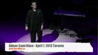 Adnan Sami Khan Toronto April 7, 2013 - Talks about weight loss experience
