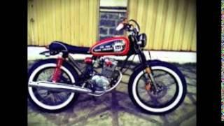 Modifikasi Motor Honda CB Jap Style Terbaik Dan Terbaru