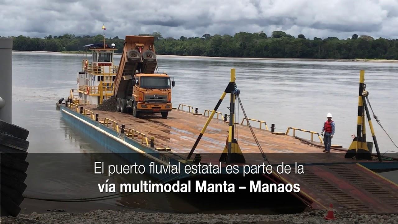 Ecuador Cuenta Con Su Primer Puerto Fluvial Youtube