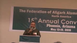 Professor Sufyan Beg at 15th Annual Convention - P1