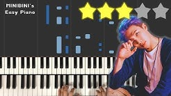 RM (BTS) - UhGood (어긋)  《Piano Tutorial》 ★★★☆☆