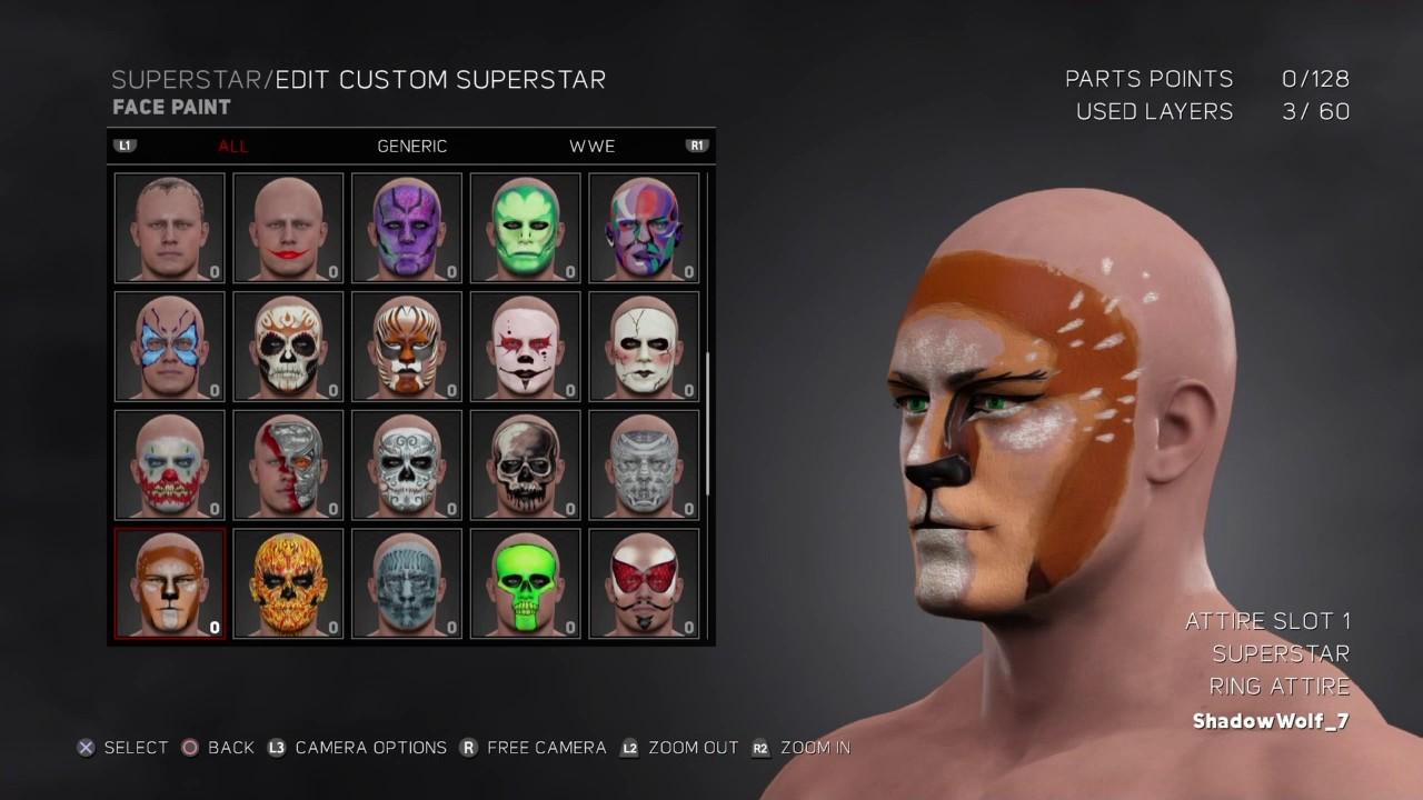 Gta V Online Face Painting