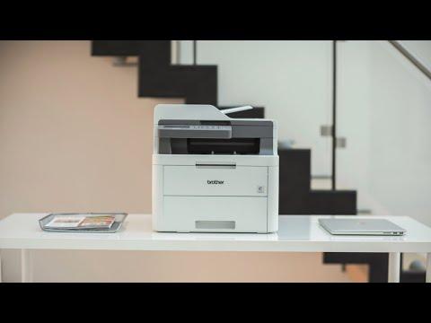 Brother DCP-L3550CDW impresora multifunción láser LED color
