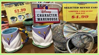 DISNEY CHARACTER WAREHOUSE OUTLET SHOPPING [8/21/19]
