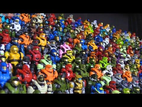 Mega Construx (Bloks) Halo Collection - 750+ Figures!