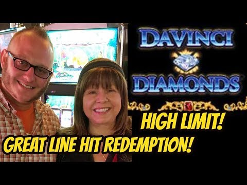 DAVINCI DIAMONDS REDEMPTION? HIGH LIMIT SLOT MACHINE