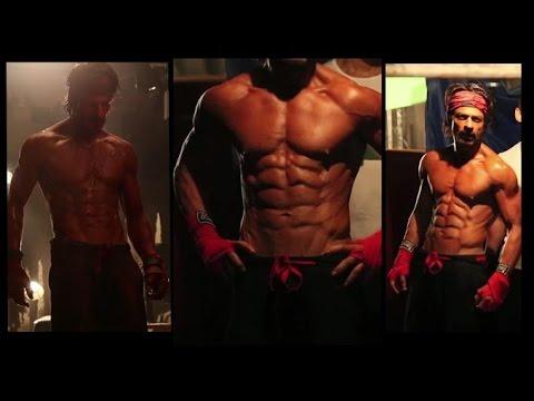 Shahrukh Khan reveals his 10-pack abs...
