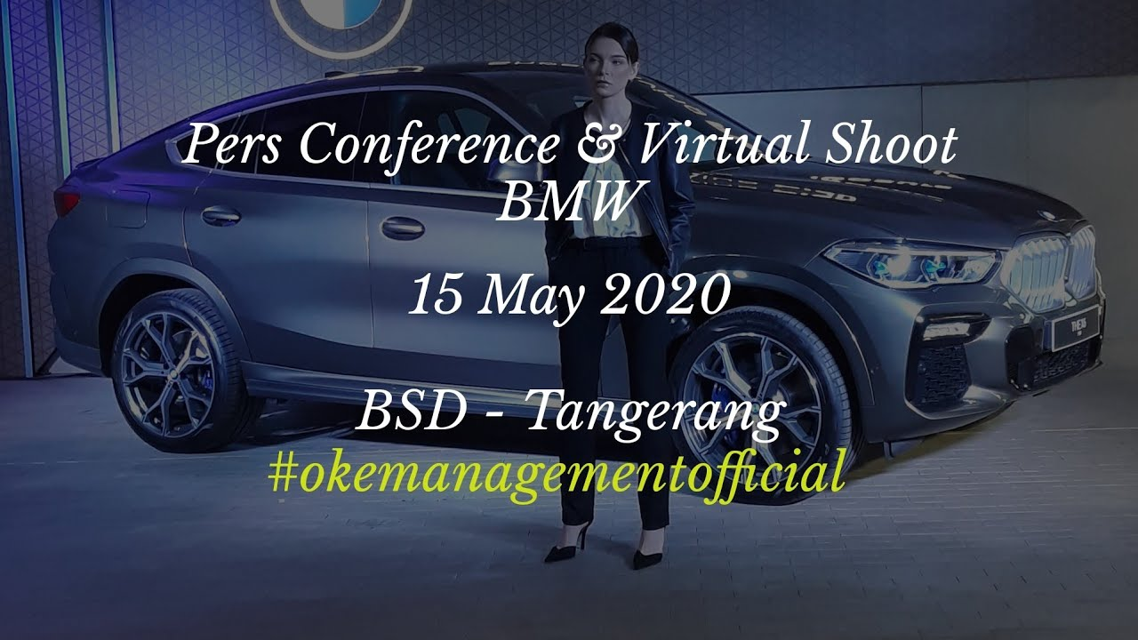 #event #otomotif #brandambassador #model Pers Conference & Virtual Shoot BMW 2020