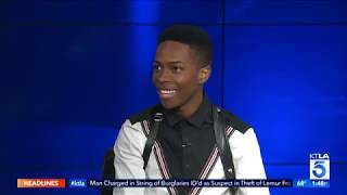 Actor and Rapper Dante Brown Talks Starring in 'MA' and Music Career