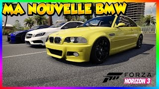 Forza Horizon 3 ROLEPLAY - Ma Nouvelle BMW !