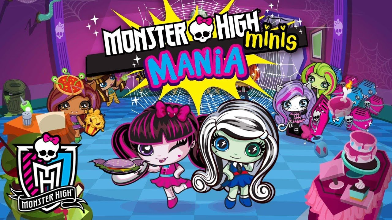 El Juego De Monster high Minis Mania  YouTube