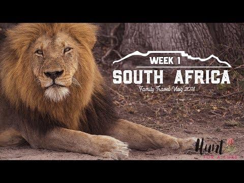 South Africa Family Travel Vlog - Week 1