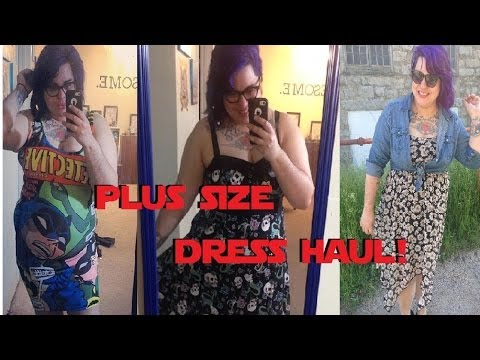 Plus Size Dress Haul Torrid Hot Topic And More Youtube
