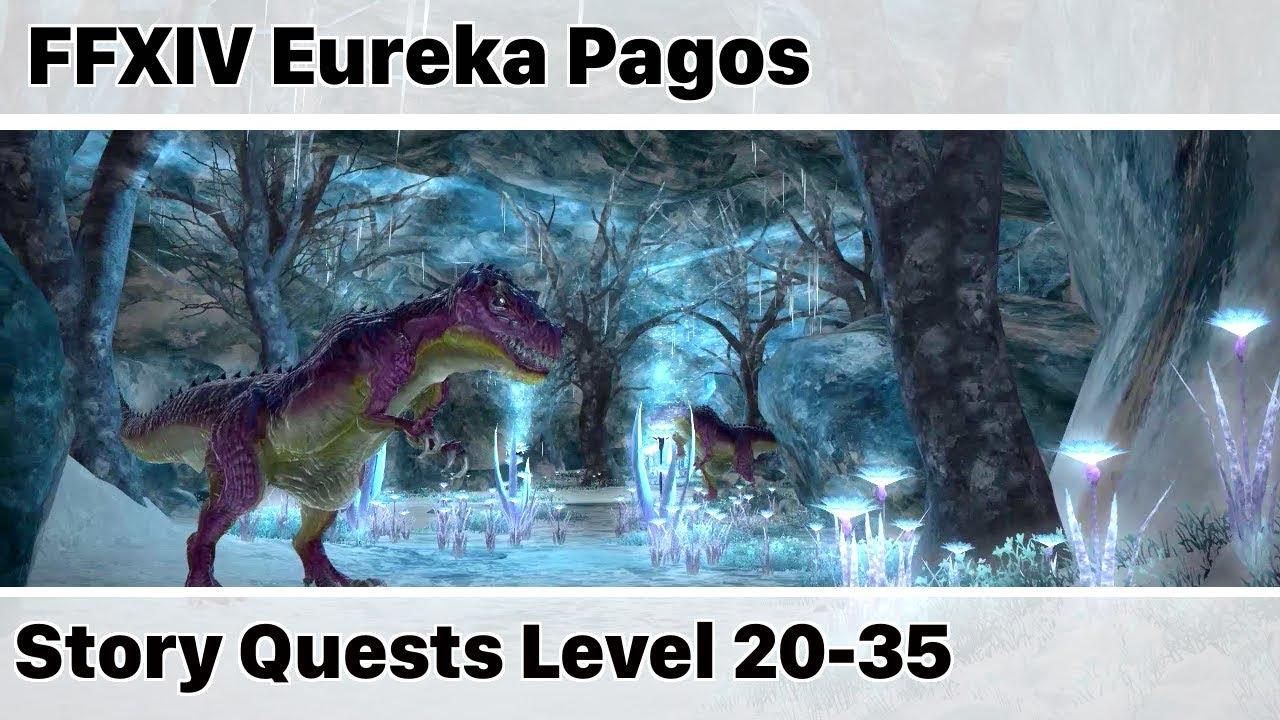 FFXIV Eureka Pagos Story Quests Level 20-35 - Stormblood