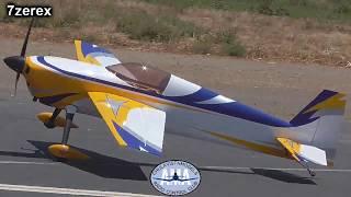 "AJ AIRCRAFT 115"" Laser 230z Chula Vista Remote Control Club 7-14-2018"