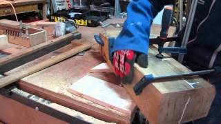 Making A Coffee Table With Oak Beams