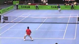 IZAWA Xmas Open 2005 TENNIS TOURNAMENT 準決勝 松井俊英 VS 添田豪