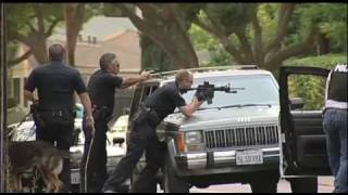 Crime Scene, Police Stand-Off  Shots Fired & Arrest / Palo Alto