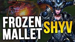 FROZEN MALLET SHYVANA - PLACEMENTS U2D 2 (League of Legends)