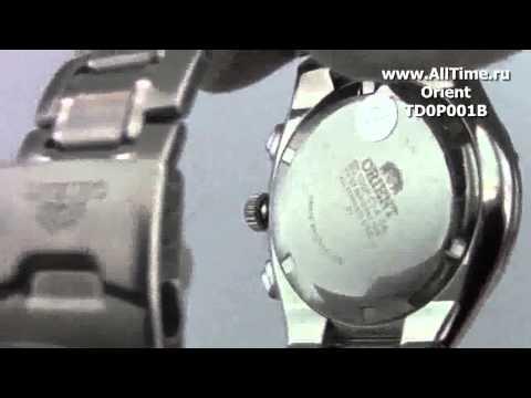 Мужские японские наручные часы Orient TD0P001B