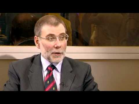 Nelson McCausland - Post-Conference Intervnew