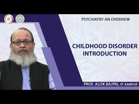 Lec 14 Childhood Disorder Introduction