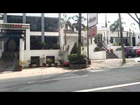 Philippines streets in Tagaytay on Vacation