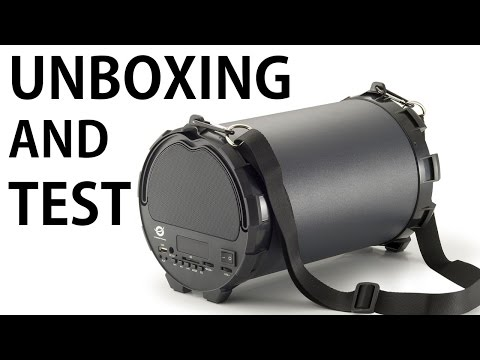 Unboxing + Test Conceptronic Wireless Action Speaker CLLSPKACTION
