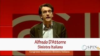 Alfredo D'Attorre - Intervento a Congresso fondativo di Sinistra Italiana