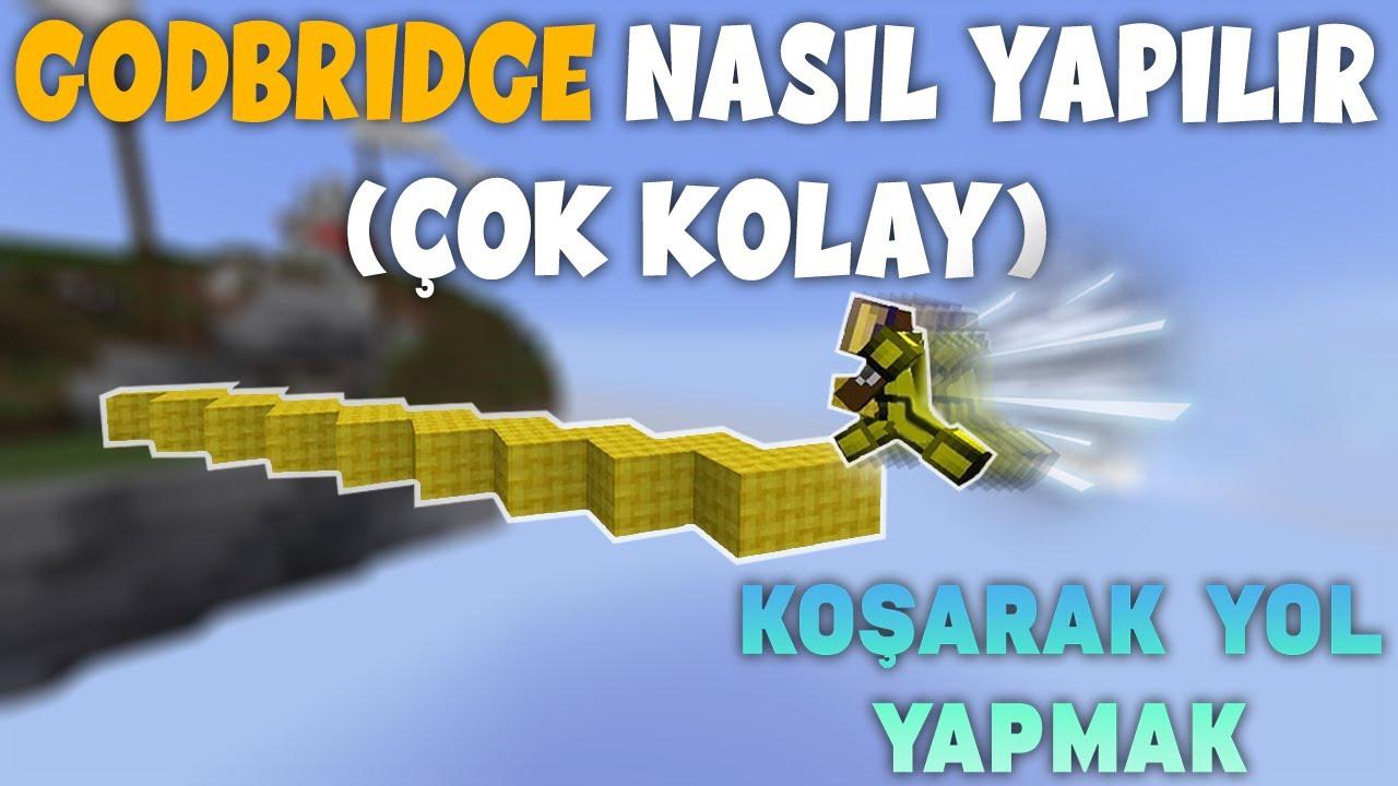 Godbridge ve Breezly Bridge Yaptıran Makro !! - Craftrise Bedwars