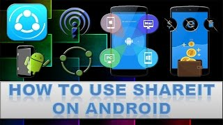 How to use shareit to transfer files from android to android?