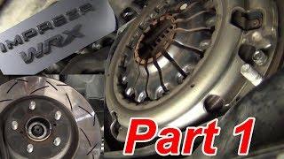 BEST Subaru Clutch How -to Replace Part 1 briansmobile1