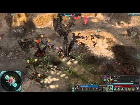 1v1 - HoLyHammer (HT) vs LittleBaJIeHoK (LG) - (Ashes of Typhon) - Dawn of War 2