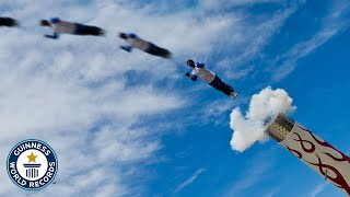 Human Cannonball: David 'The Bullet' Smith - Guinness World Records